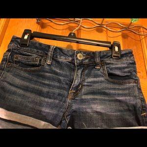 American Eagle size 4 jean shorts.